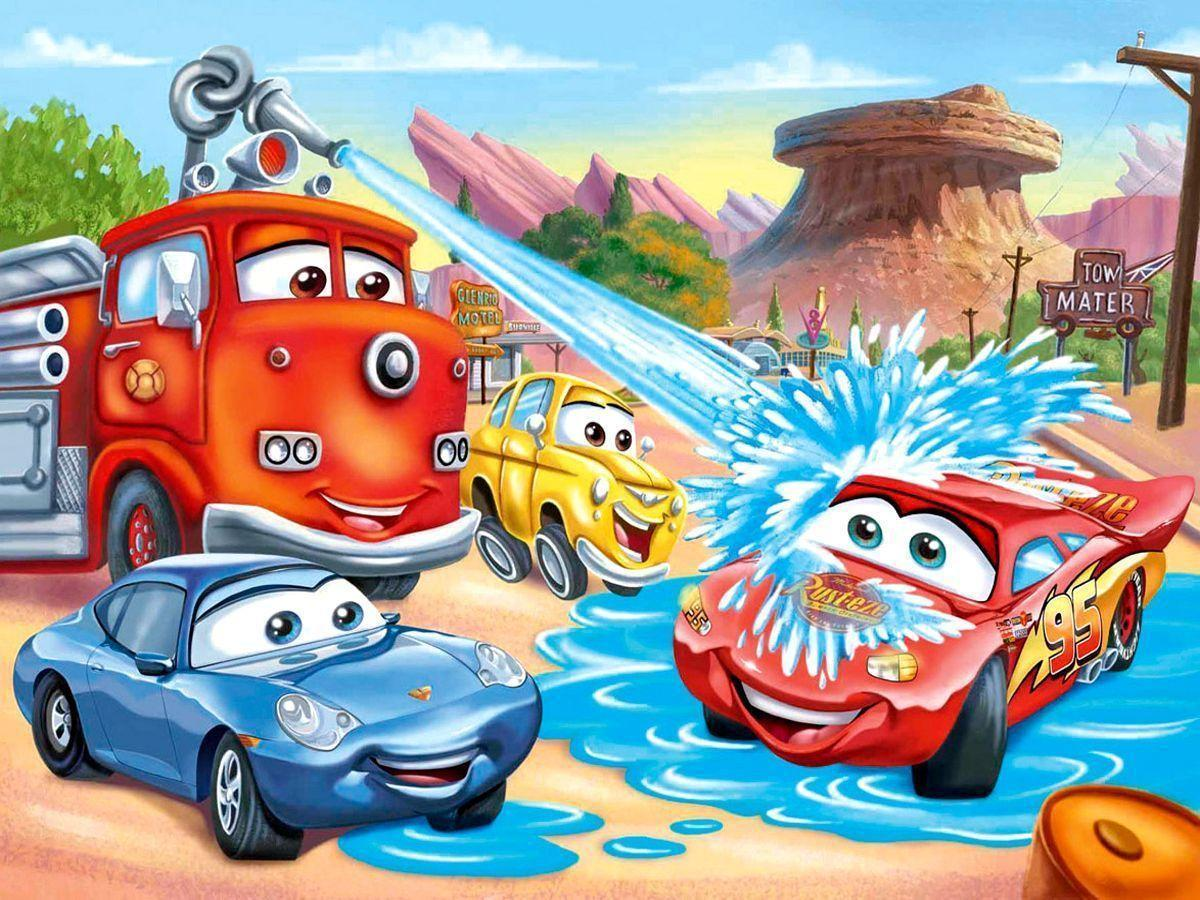 cartoon cars wallpapers