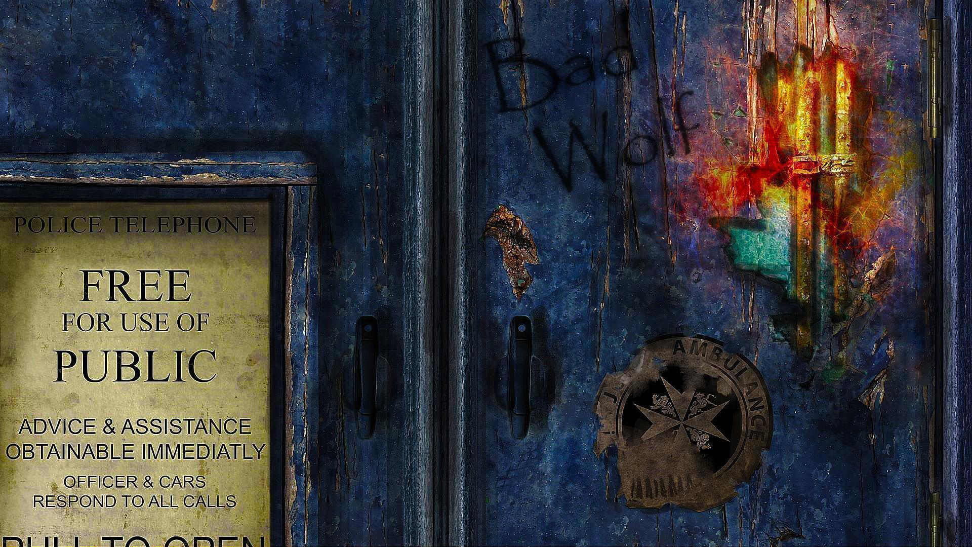 tardis doors widescreen wallpaper -#main
