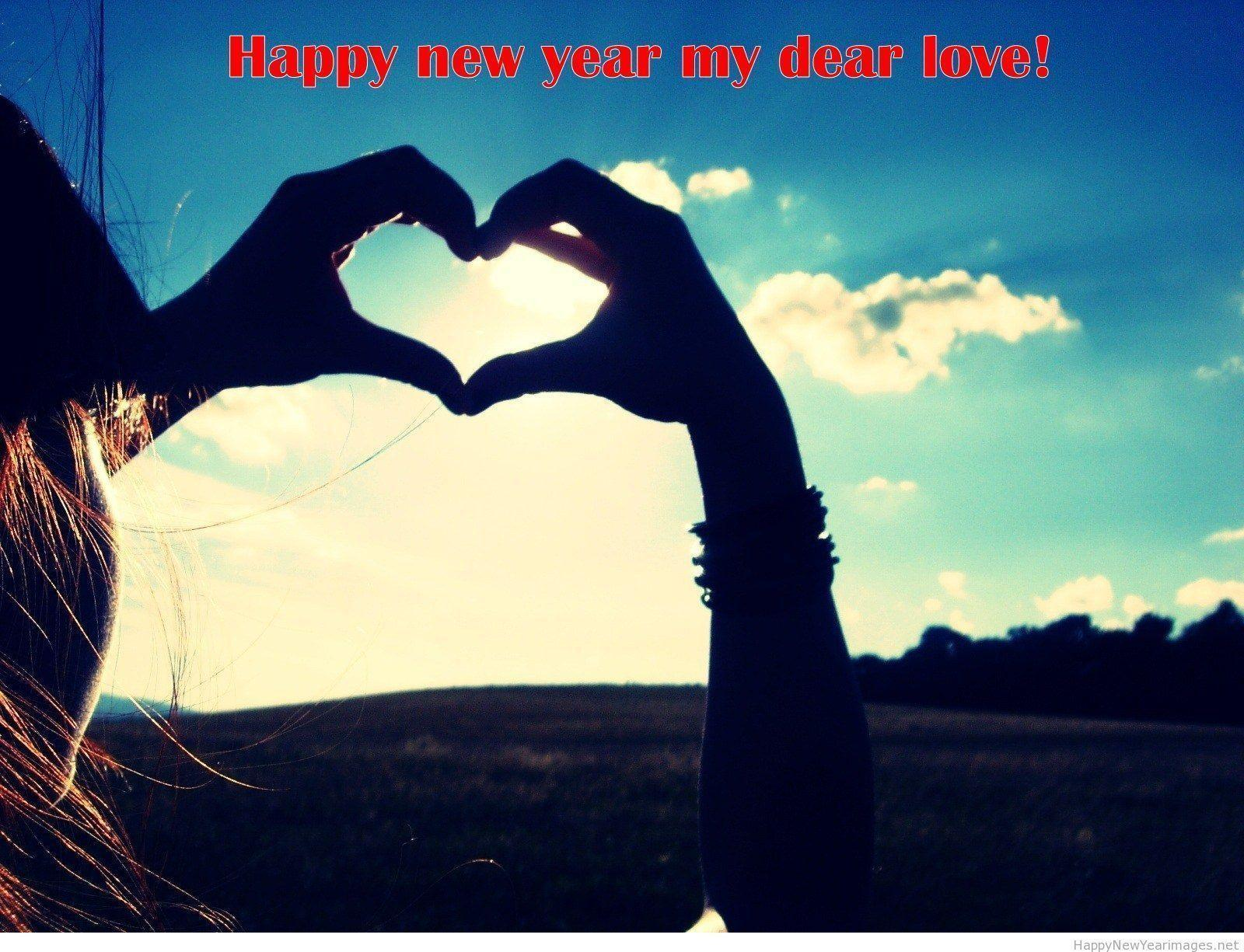 Love hands wallpapers Happy new year 2015