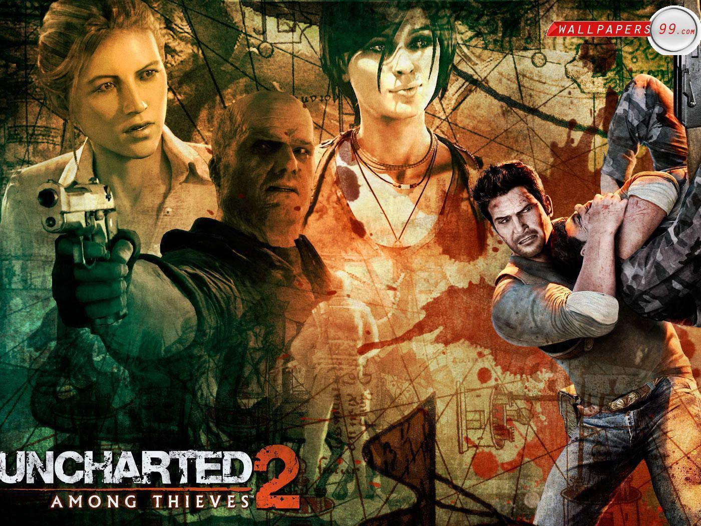 Free Uncharted 2 Among Thieves Wallpapers Photos Pictures Image