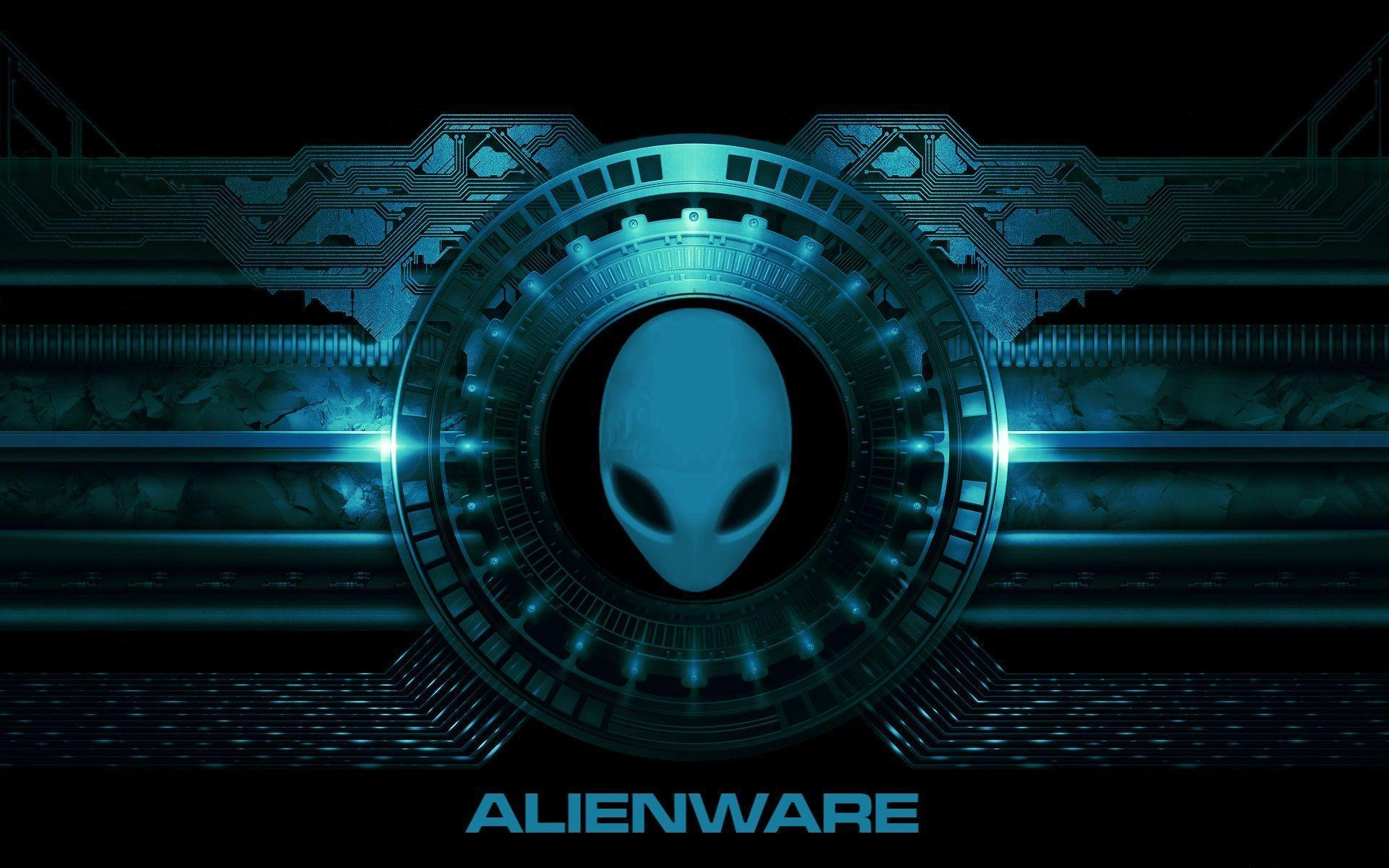 blue alienware wallpapers wallpaper cave