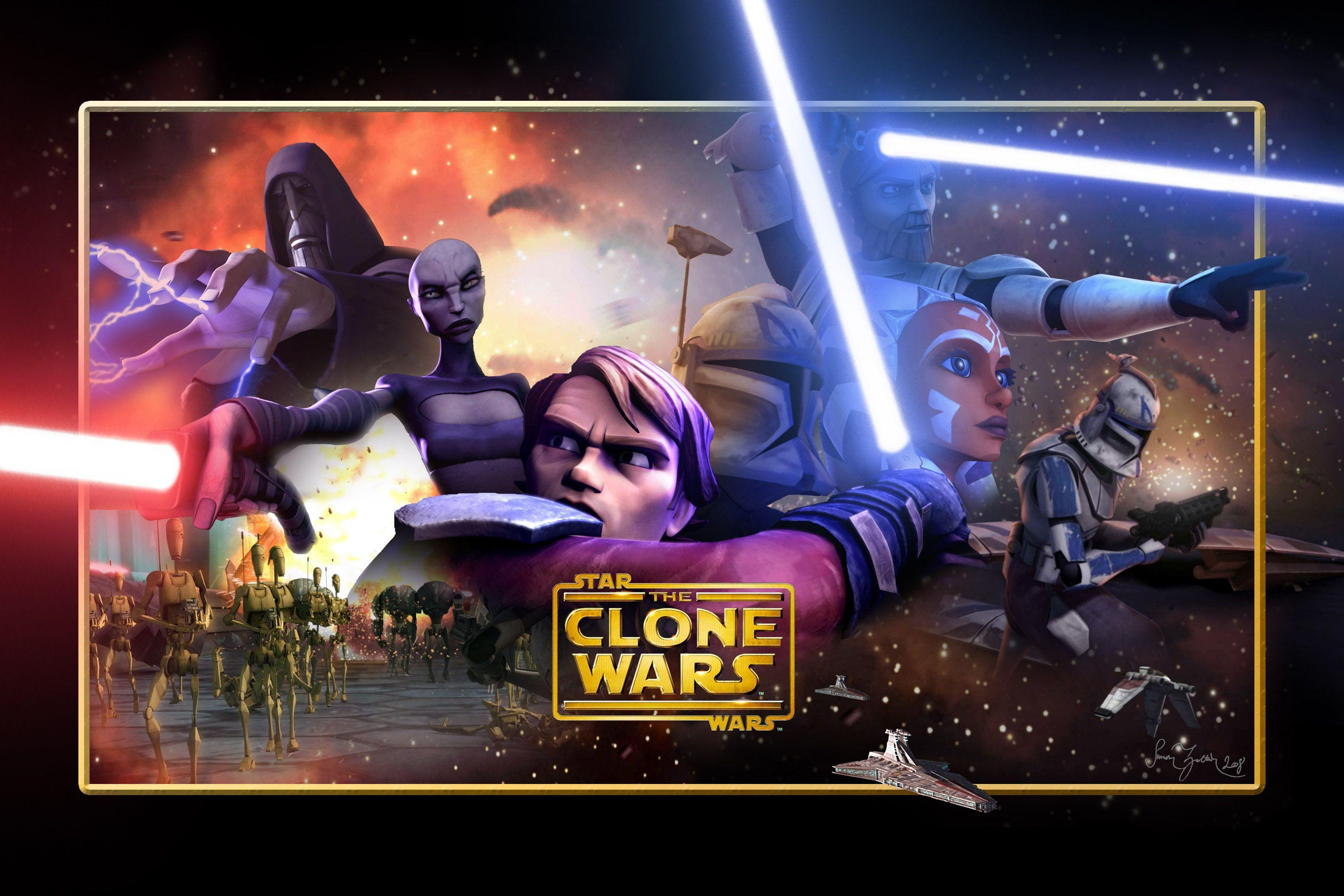 Star Wars Clone Wars Wallpapers Wallpaper Cave