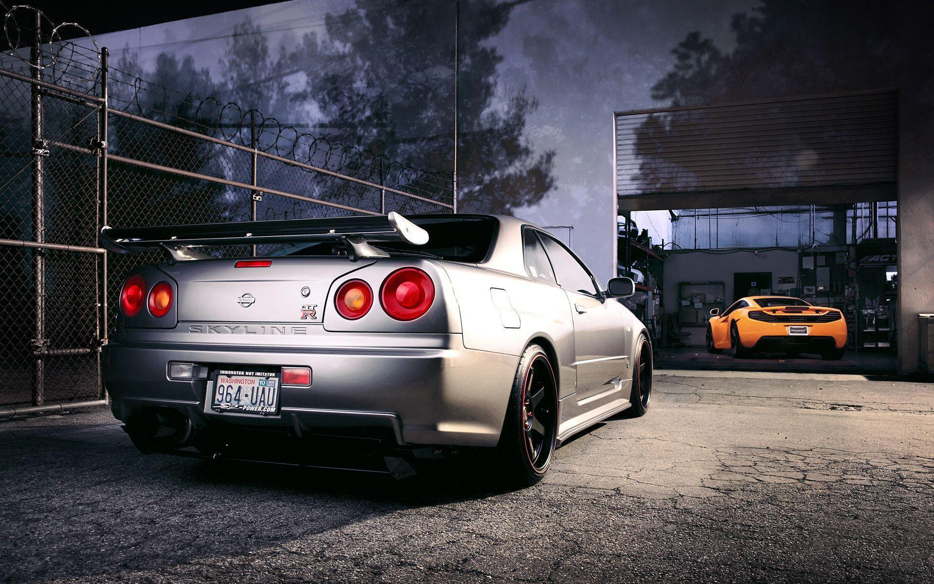 Nissan R34 Skyline GT R Wallpapers