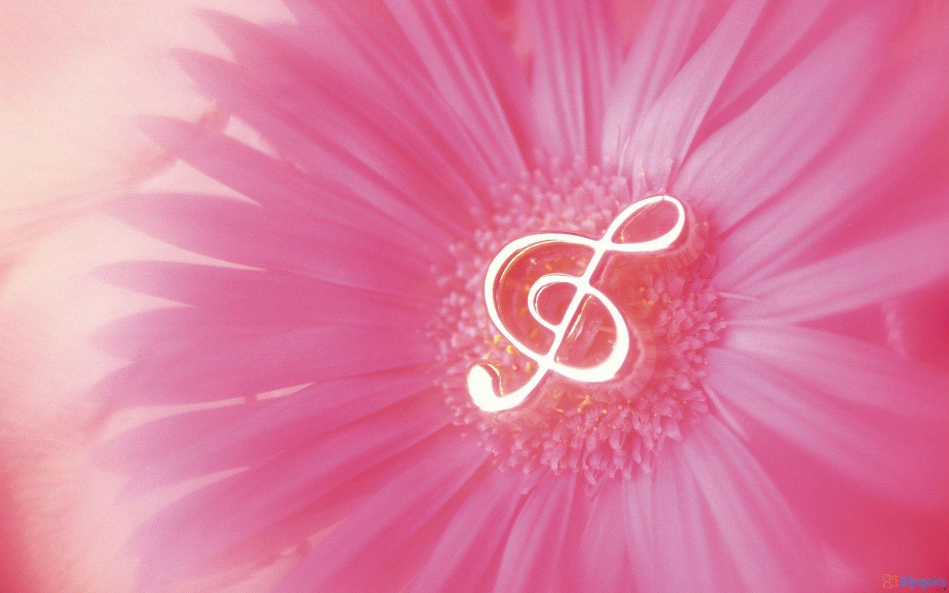 music notes backgrounds floral - photo #13