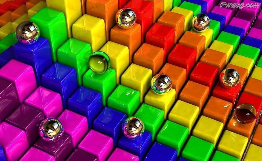 3d Wallpaper Hd 1680x1050: Colorful 3D Wallpapers