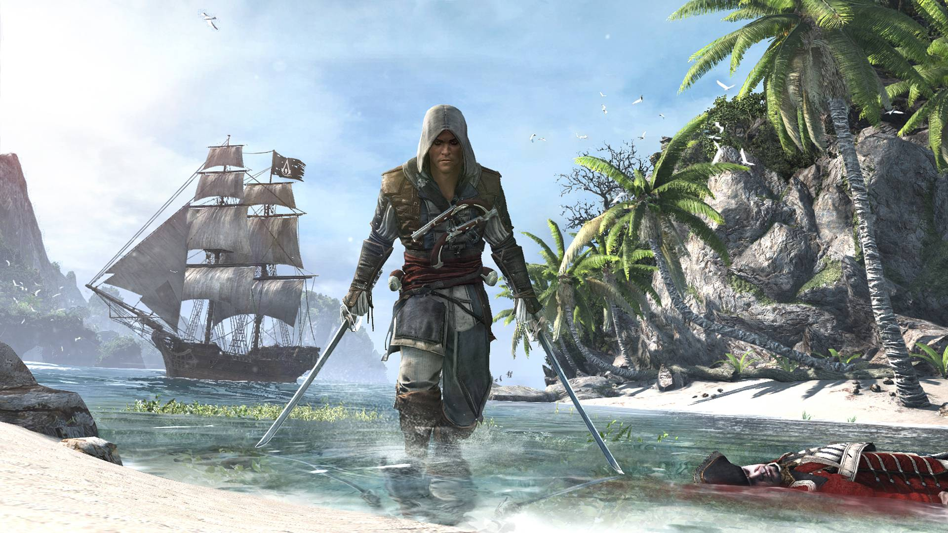Ac4 black flag wallpapers wallpaper cave assassins creed iv black flag geforce voltagebd Image collections