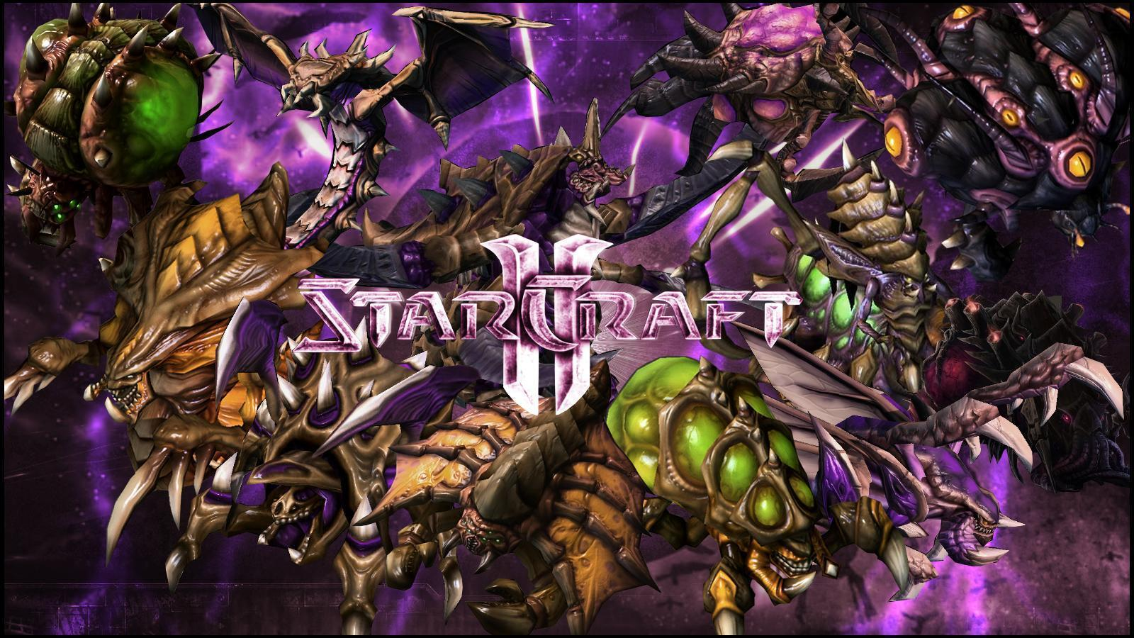 zerg starcraft wallpaper 2560x1440 - photo #34