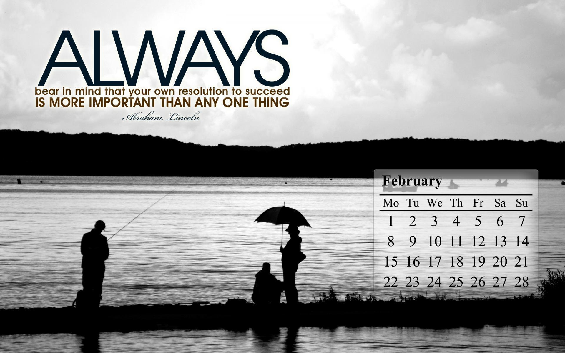 Calendar Wallpaper Quotes : February wallpapers wallpaper cave