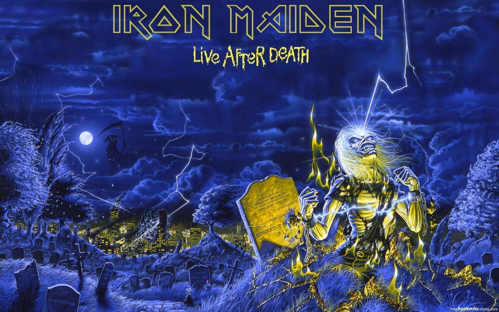 iron maiden wallpapers covers - photo #11