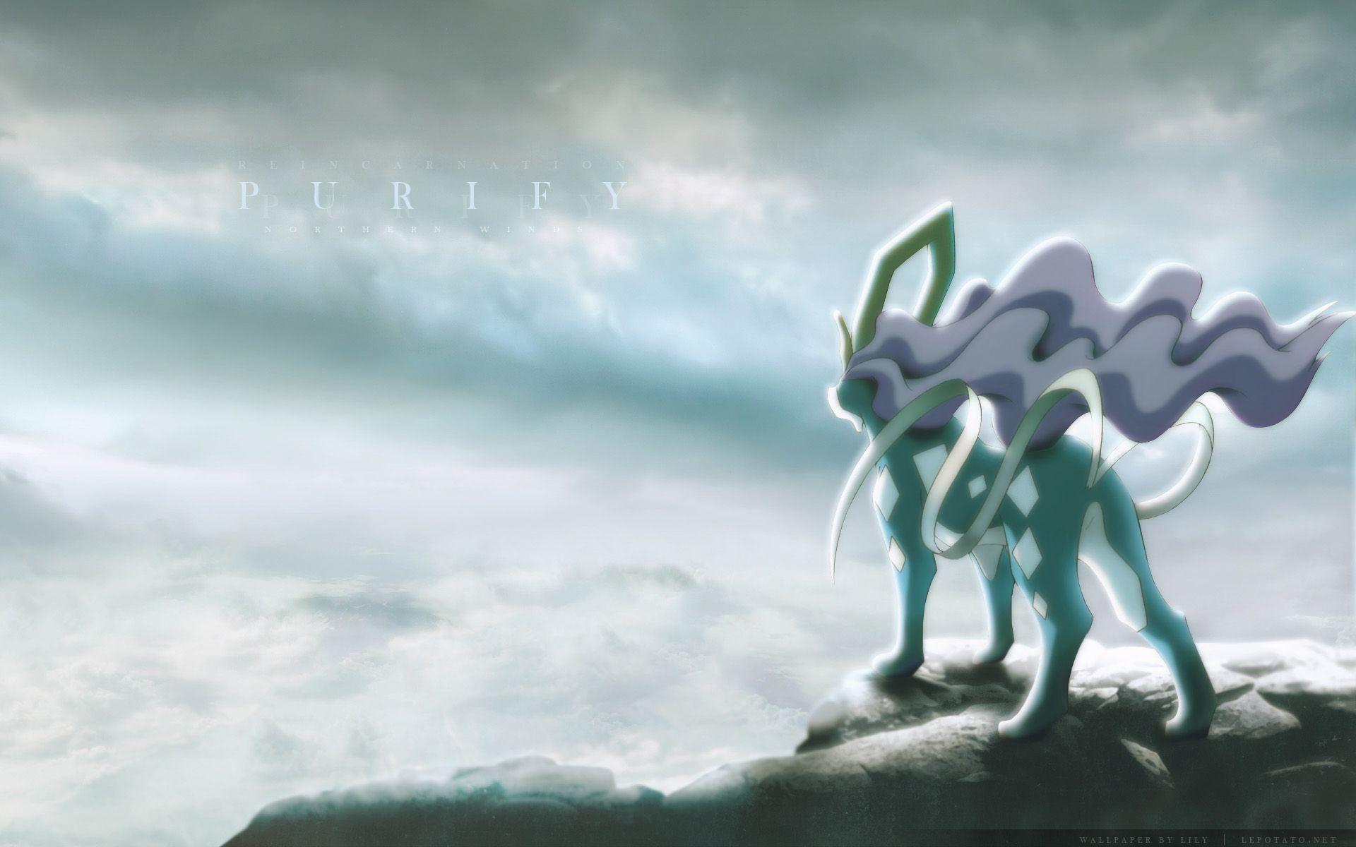 suicune pokemon hd wallpapers - photo #17