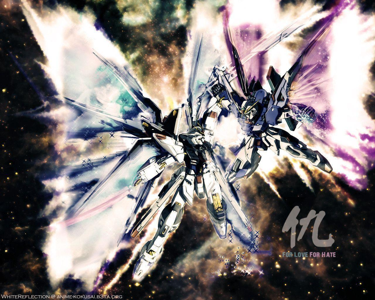 Pix For > Gundam Seed Wallpapers