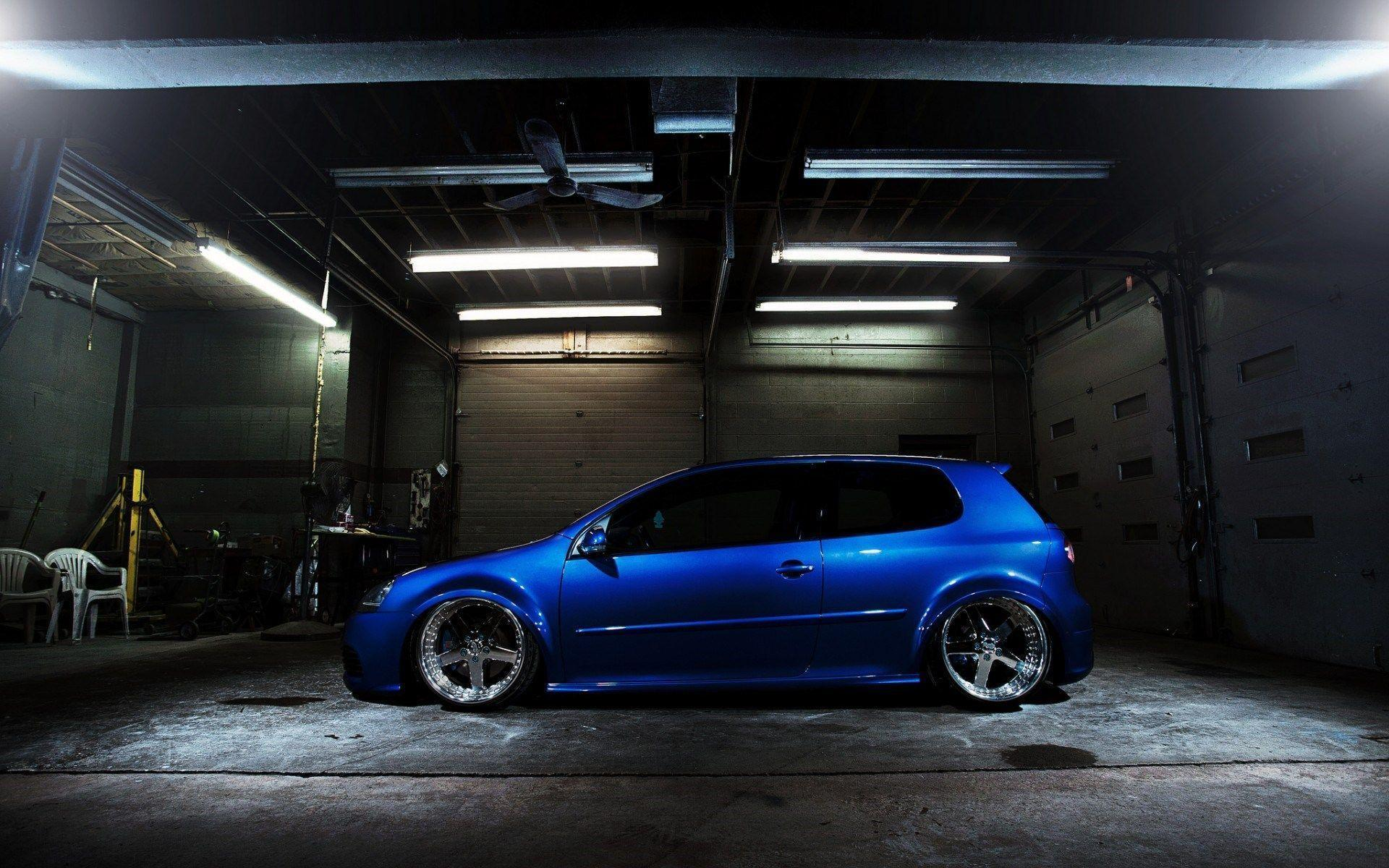 Volkswagen Golf GTI Blue HD Wallpaper - FreeHDWalls