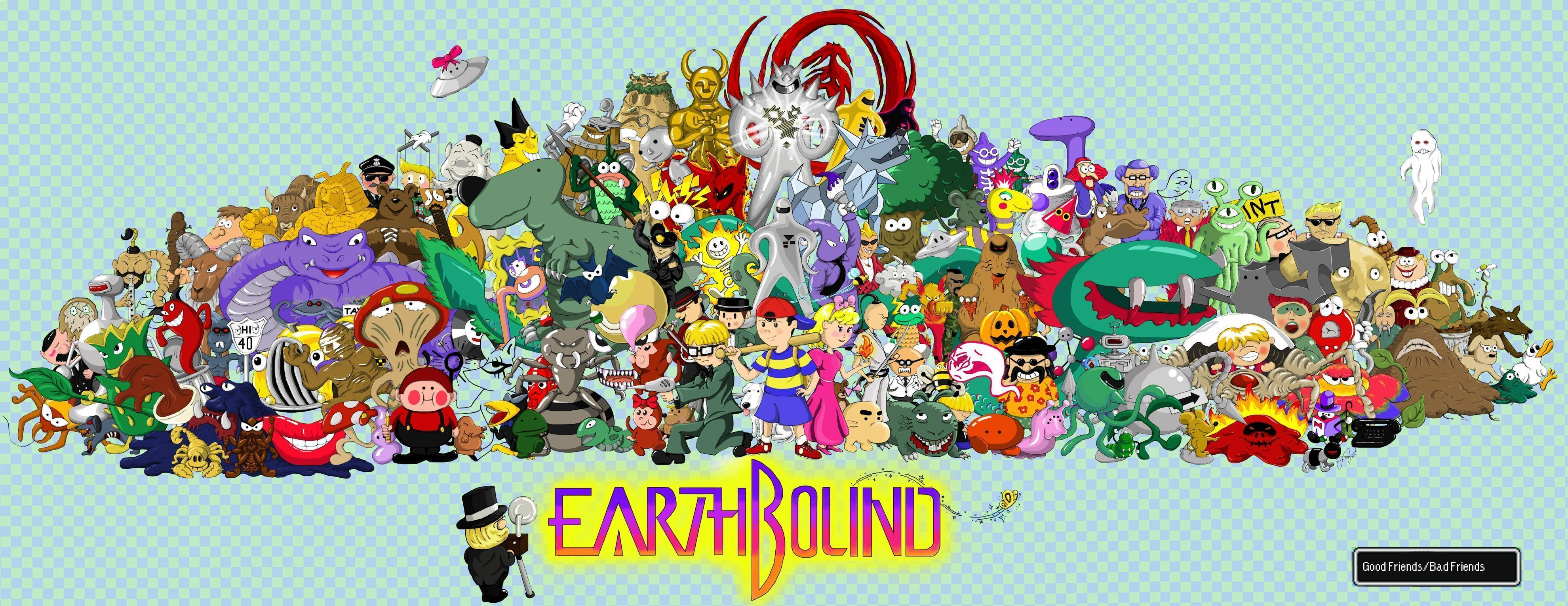 earthbound wallpaper