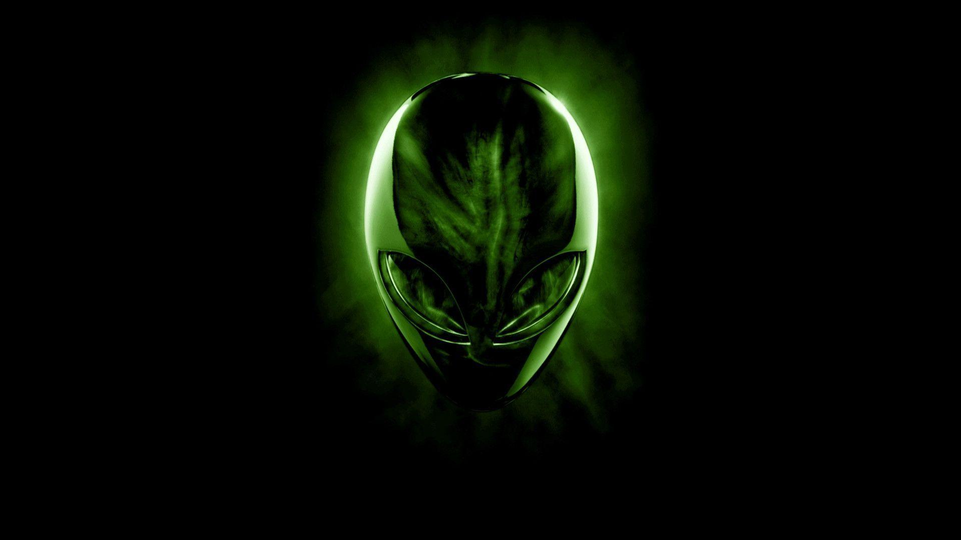 alienware wallpaper green hd - photo #1
