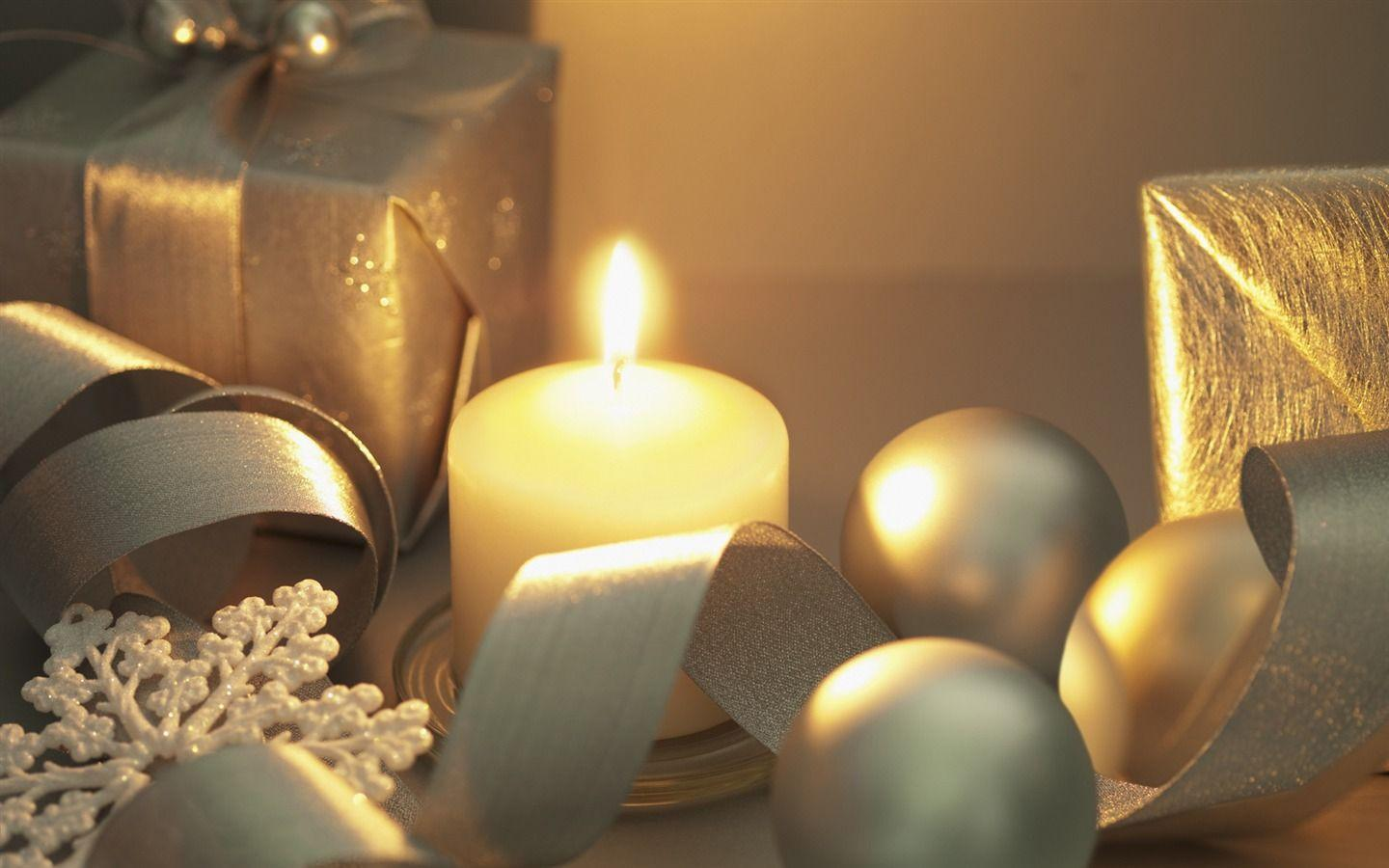christmas candle wallpapers wallpaper cave. Black Bedroom Furniture Sets. Home Design Ideas