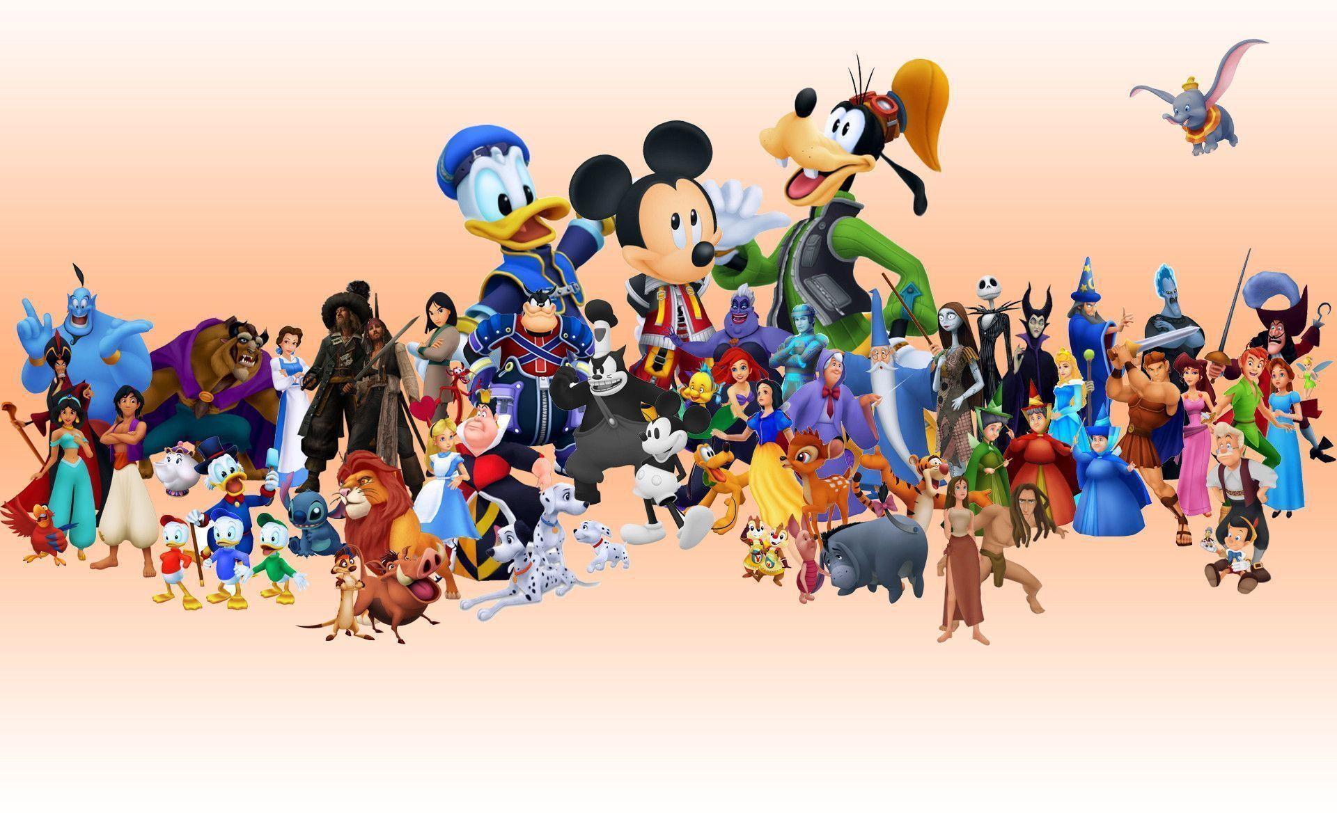 Free Disney Backgrounds Wallpaper Cave