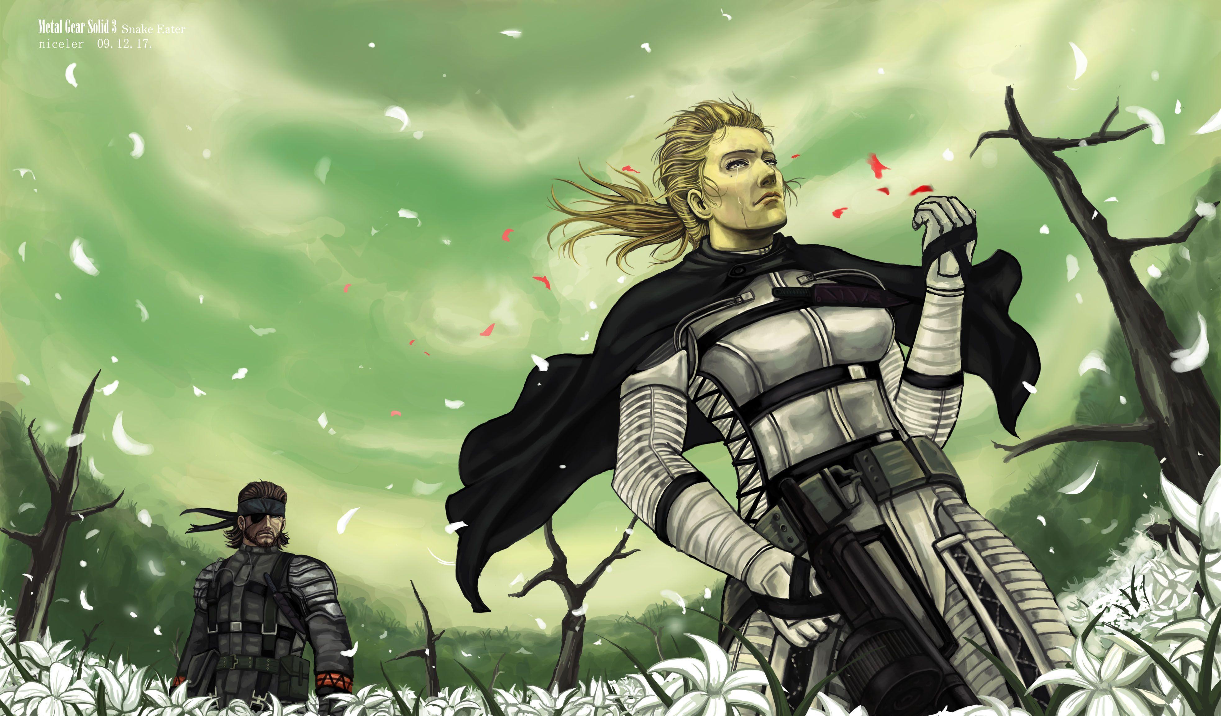 Wallpapers HD Metal Gear Solid