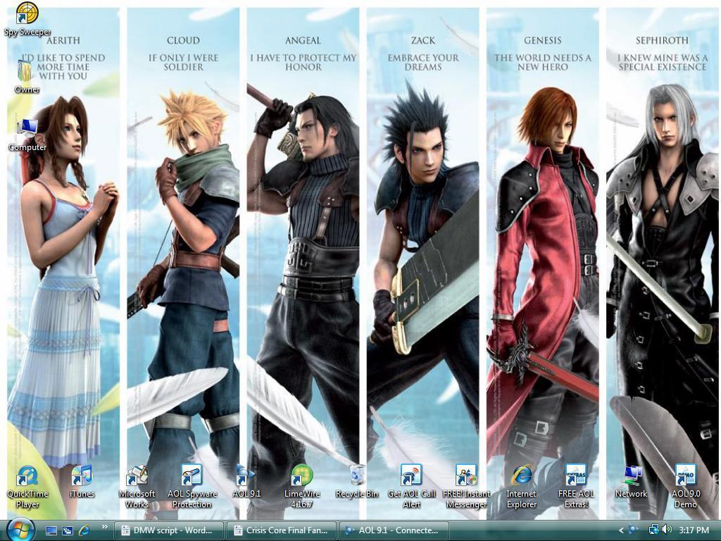 Final Fantasy 7 Backgrounds - Wallpaper Cave