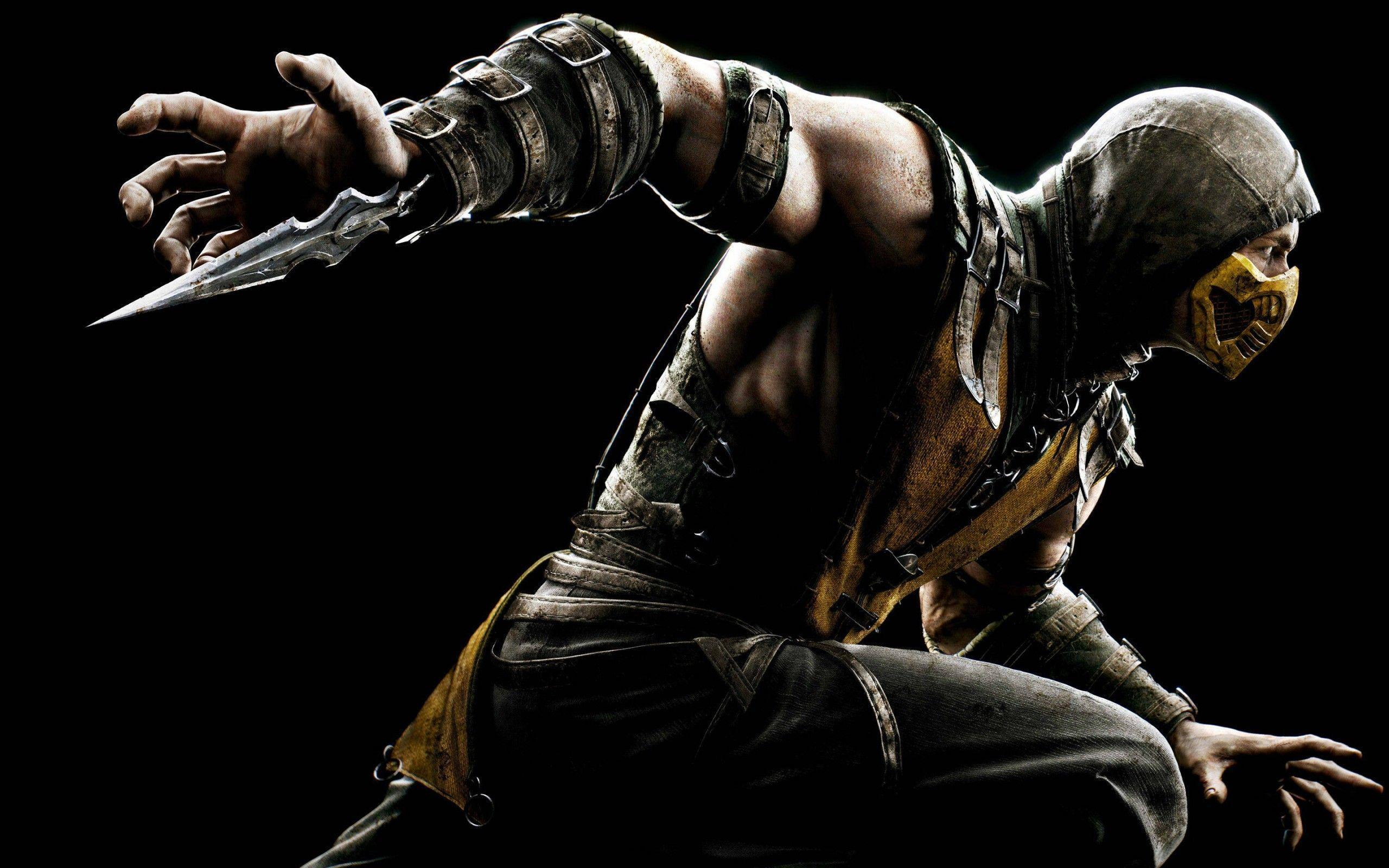 Mortal Kombat X Game Scorpion Cool Backgrounds Wide or HD