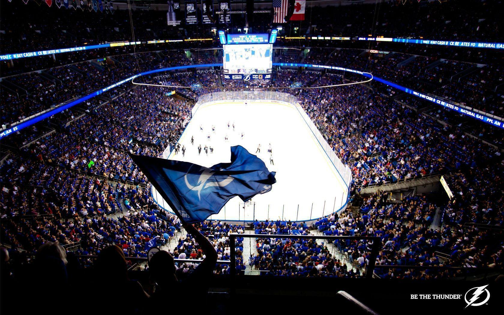Be the Thunder - Tampa Bay Lightning Wallpaper (30398471) - Fanpop