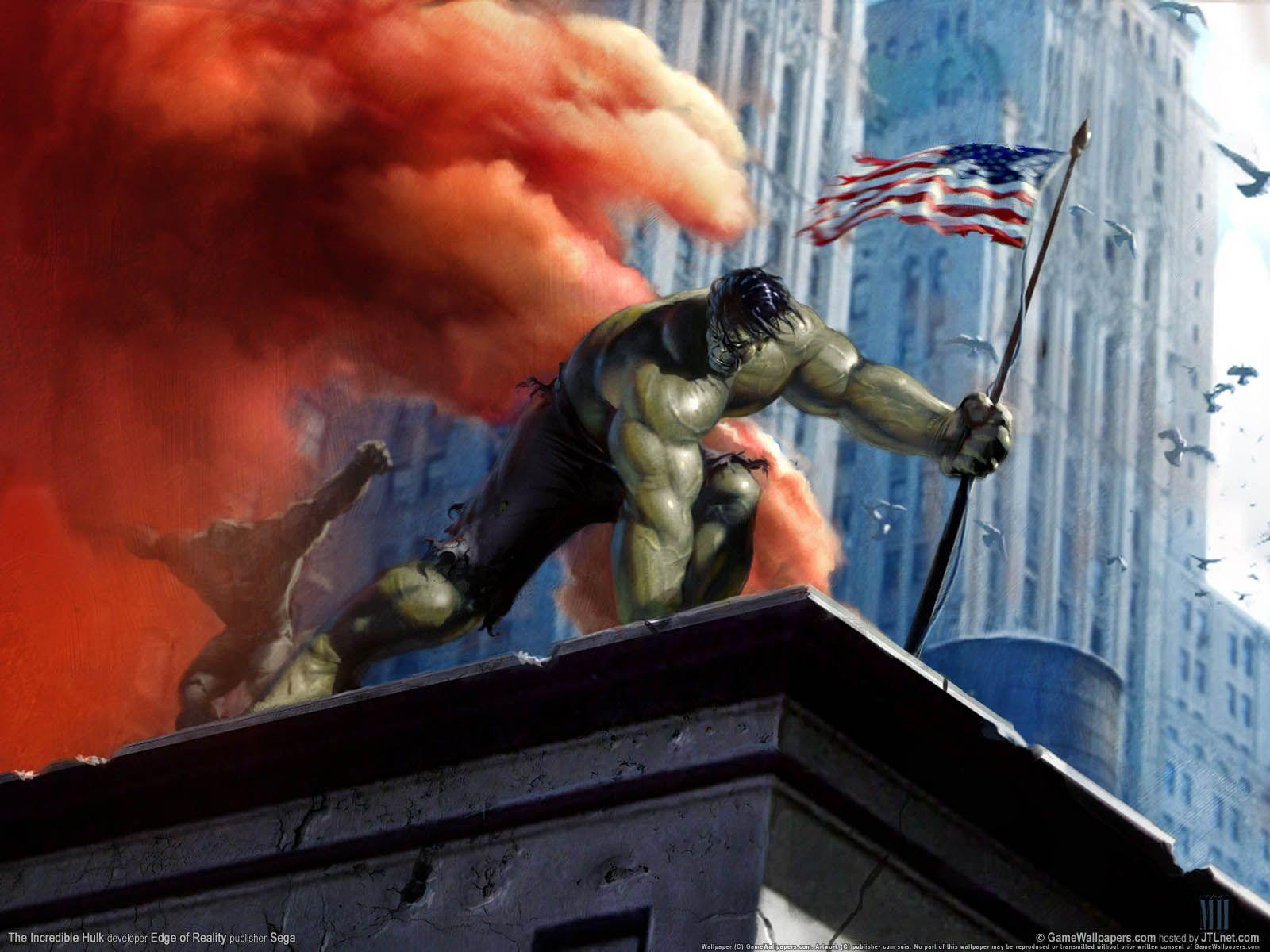 The Incredible Hulk - Games Wallpapers | Best HD Wallpapers ...