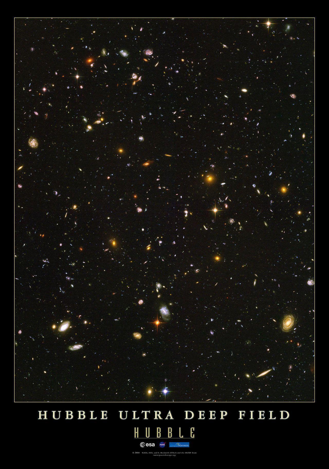 hubble ultra deep field 1366x768 - photo #6