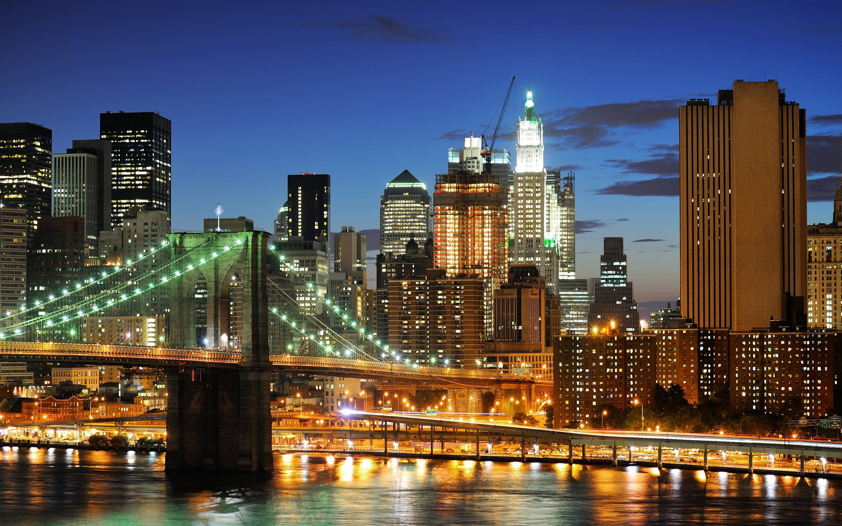 New York City Night Image HD Wallpapers
