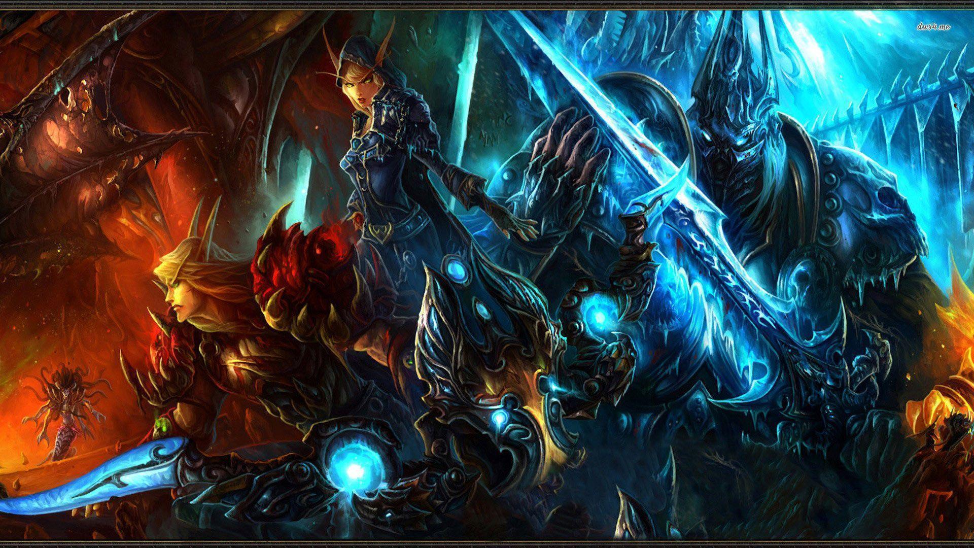 World of Warcraft wallpaper - Game wallpapers - #