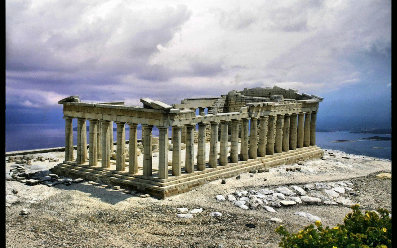 Ancient greece wallpapers wallpaper cave for Best architecture wallpapers