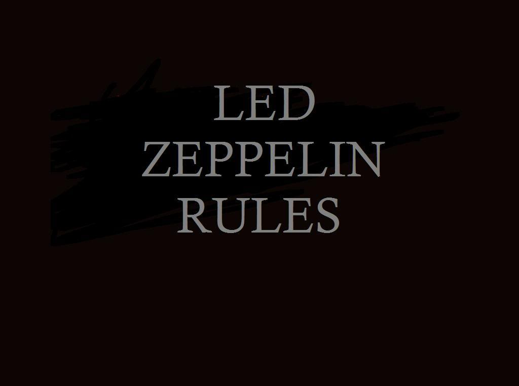 Led Zeppelin Rules wallpapers