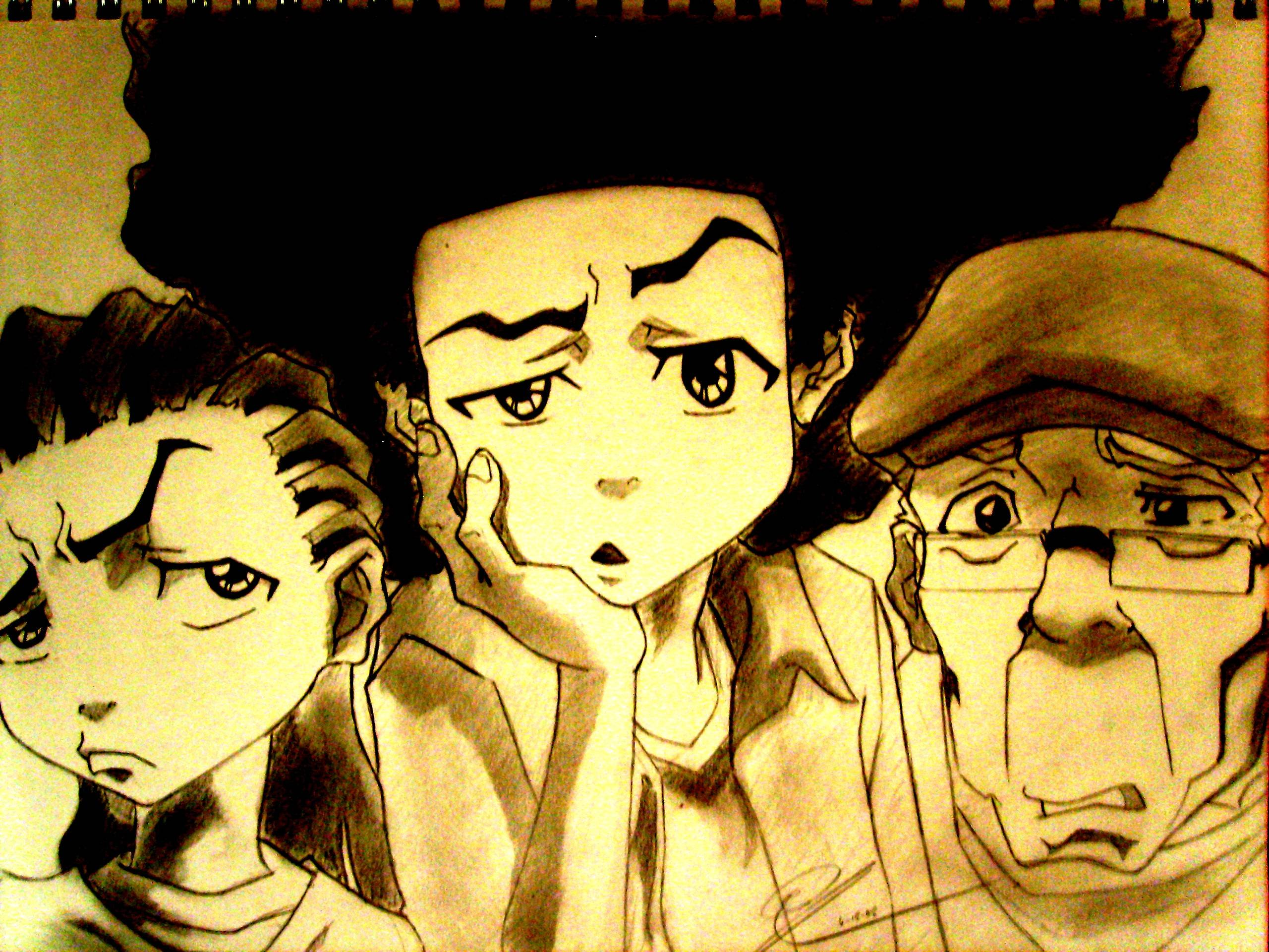 The Boondocks Standard Wallpapers Wallpapers