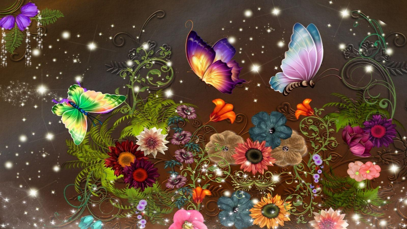 Fantasy Butterfly Wallpapers - Wallpaper Cave