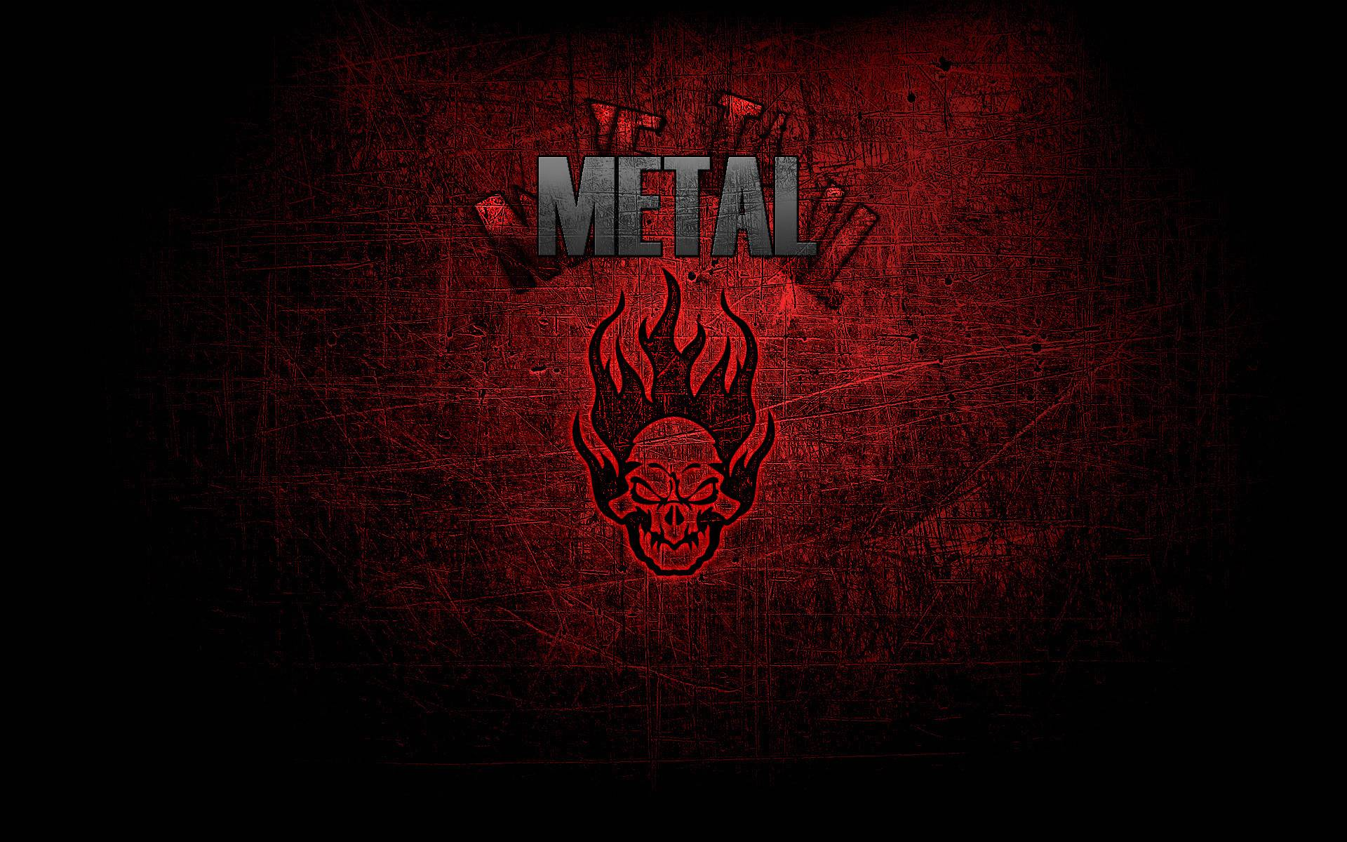 Heavy metal backgrounds