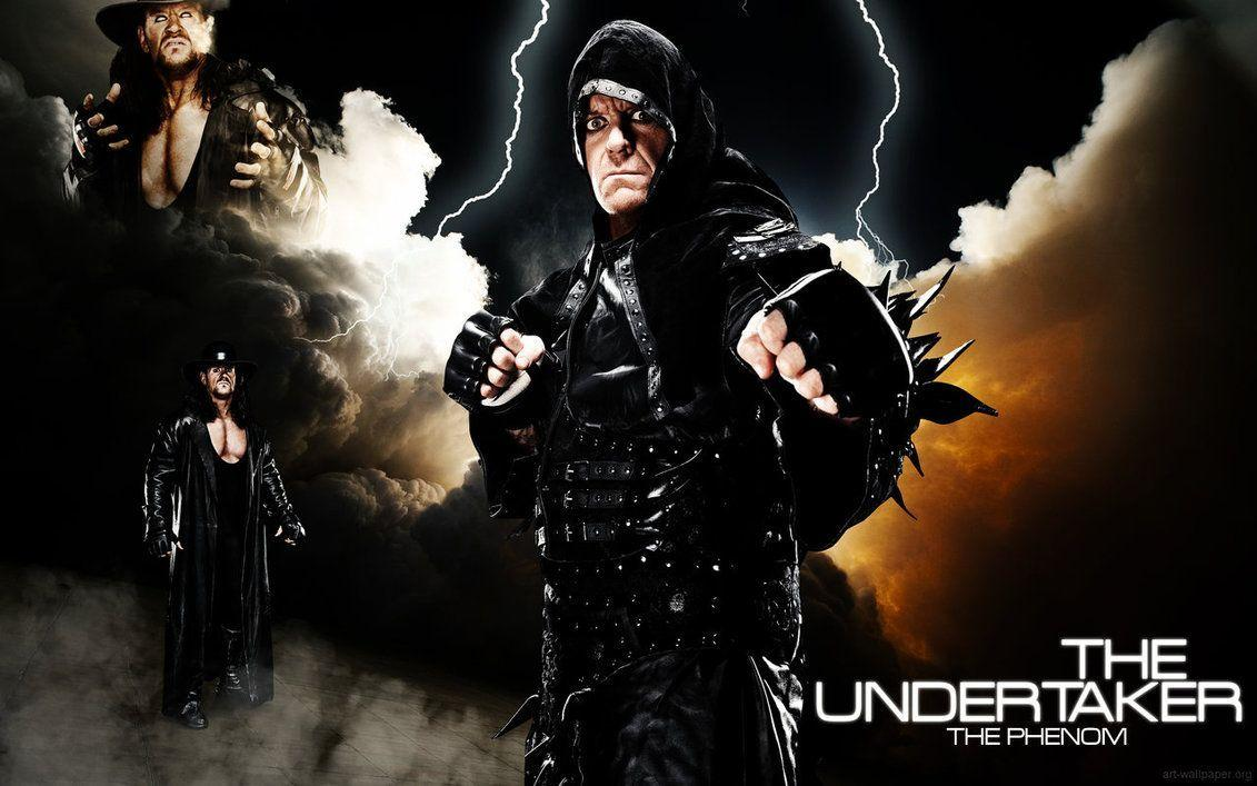 The Undertaker Wallpaper! by menasamih
