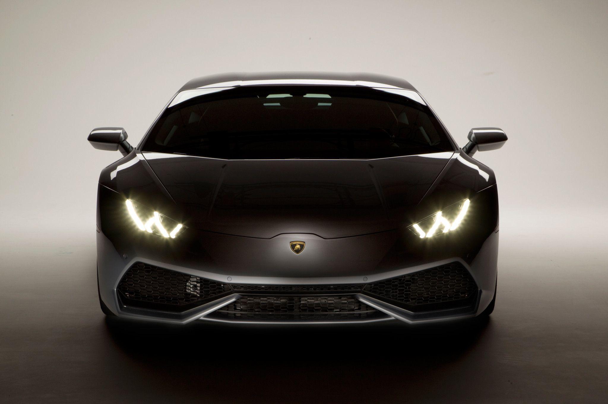 2015 lamborghini huracan front headlight hd wallpaper for desktop - Lamborghini Huracan Hd Wallpapers 1080p