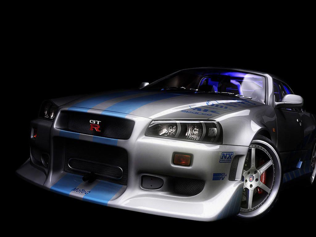 Nissan nissan sky : Nissan Skyline GTR R34 Wallpapers - Wallpaper Cave
