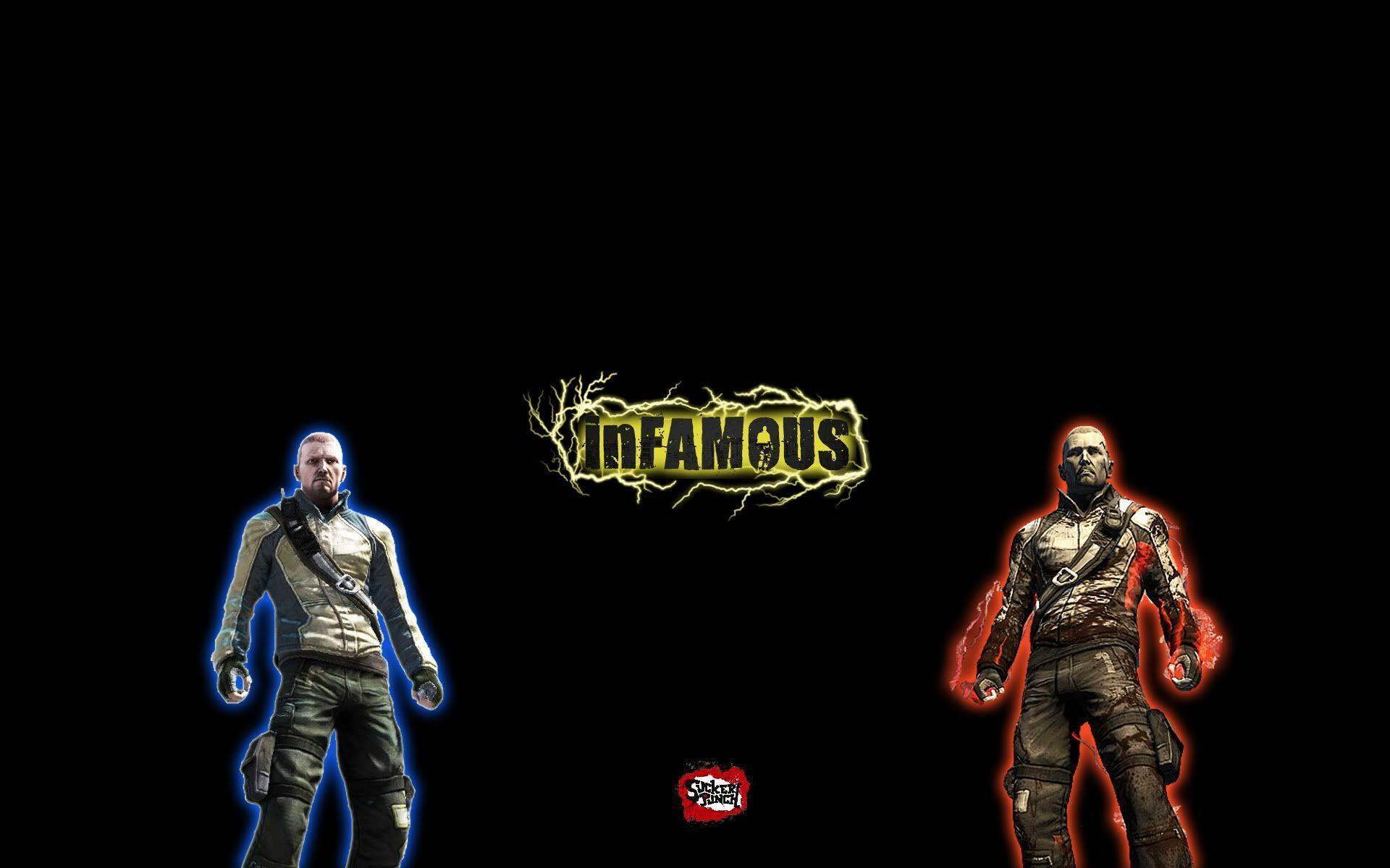 infamous backgrounds wallpaper cave