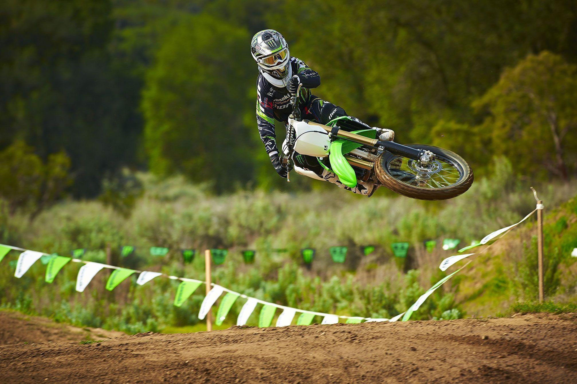 2014 Kawasaki KX250F Motocross Wallpaper Wide Or HD