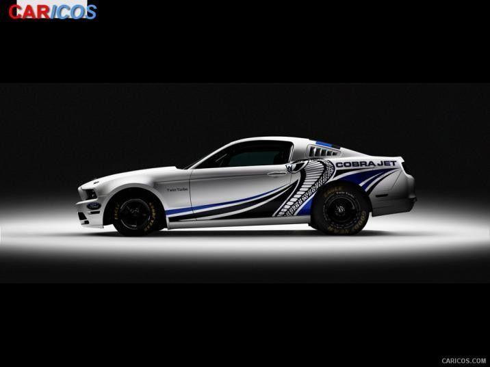 2012 Ford Mustang Cobra Jet Twin-Turbo Concept - Side | HD ...