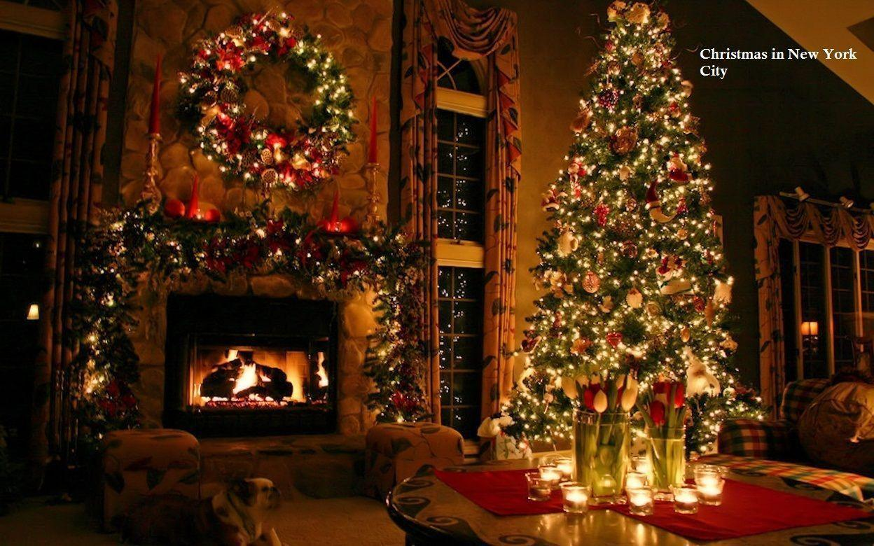 Christmas 2014 in New York HD Wallpapers for Destkop Backgrounds