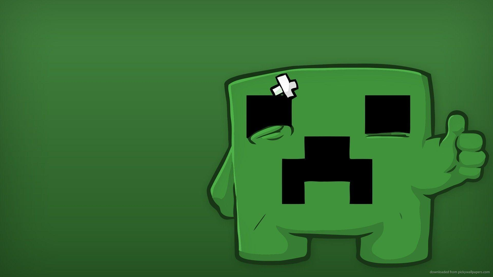 Wallpapers For > Minecraft Wallpapers Creeper Windows