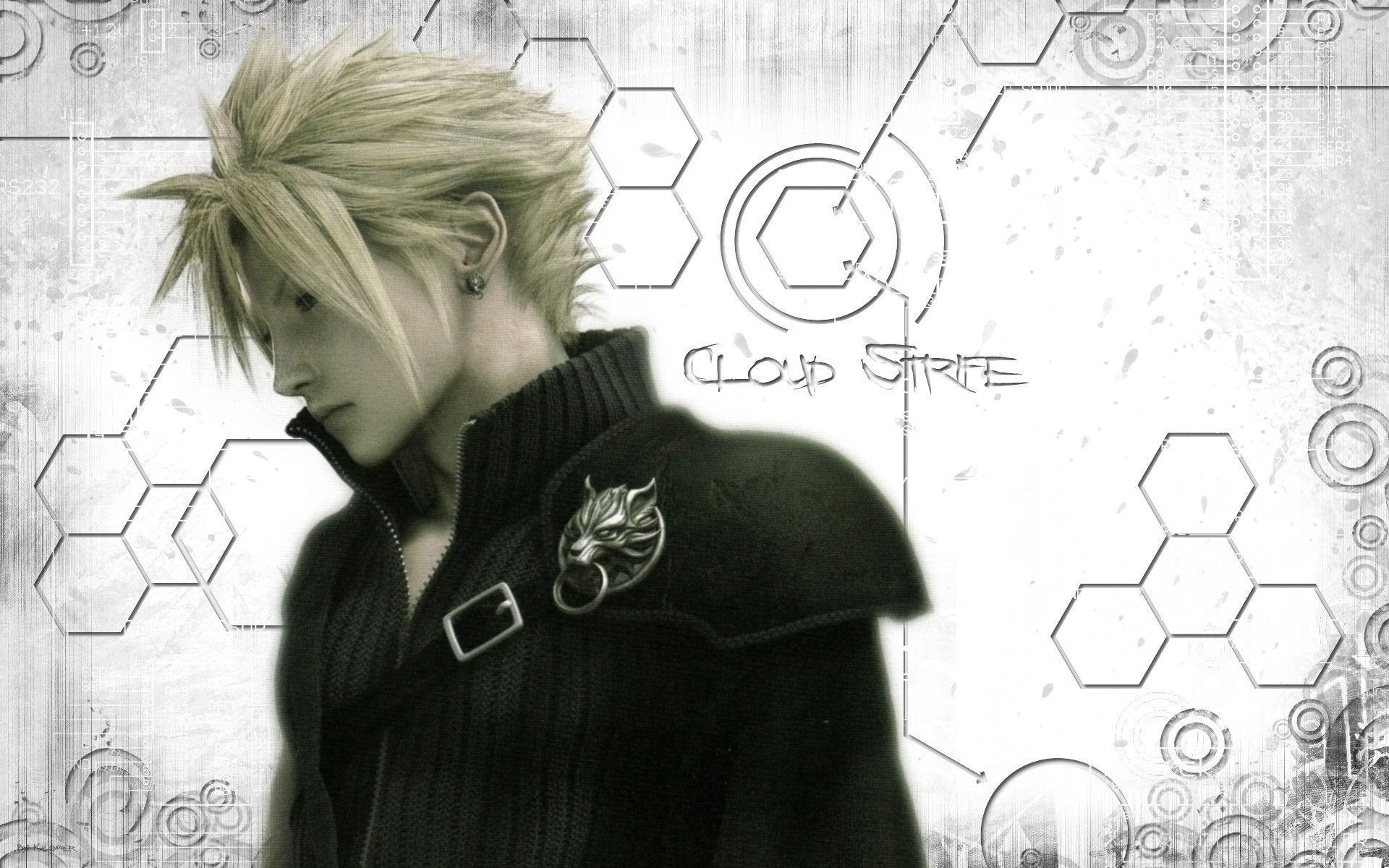 final fantasy cloud strife wallpapers wallpaper cave