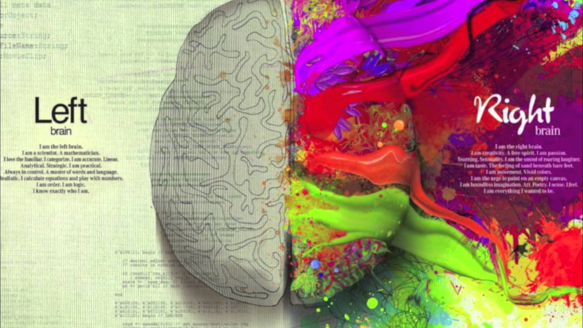 Trends For > Left And Right Brain Wallpapers