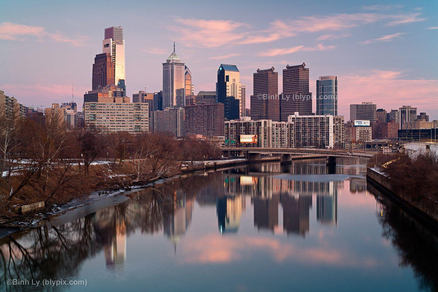 philadelphia skyline wallpaper - photo #12