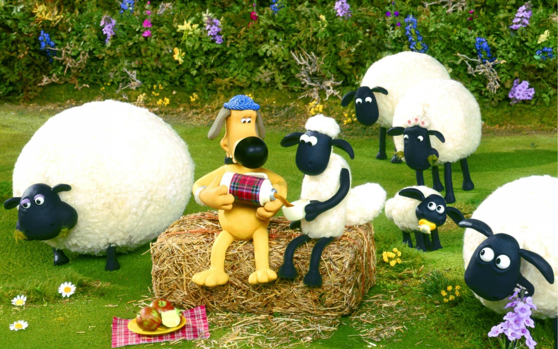 Shaun The Sheep Desktop Wallpaper HD