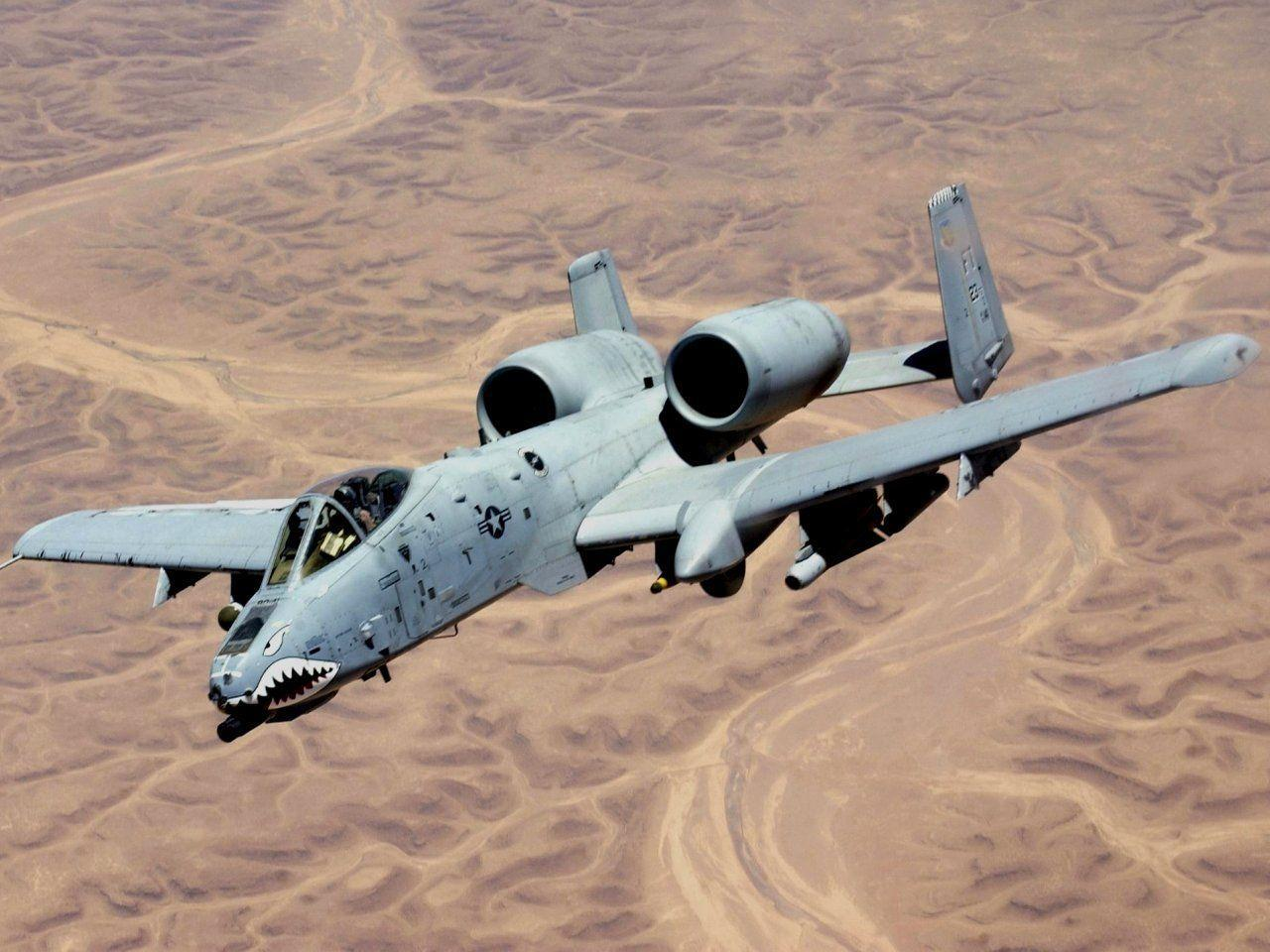 Fairchild Republic A-10 Thunderbolt II Wallpapers ...