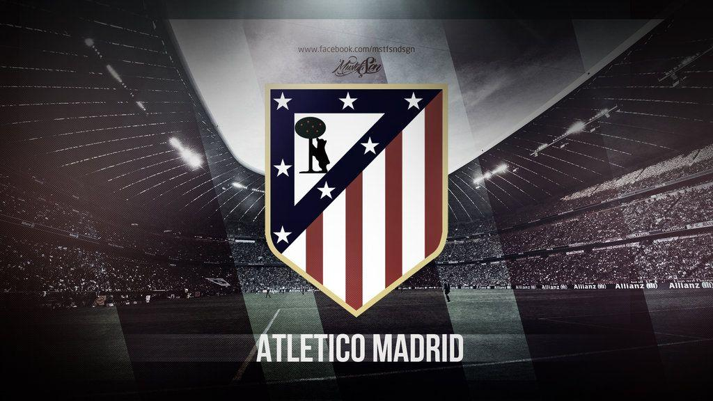 Atletico Madrid logo photo for wallpapers