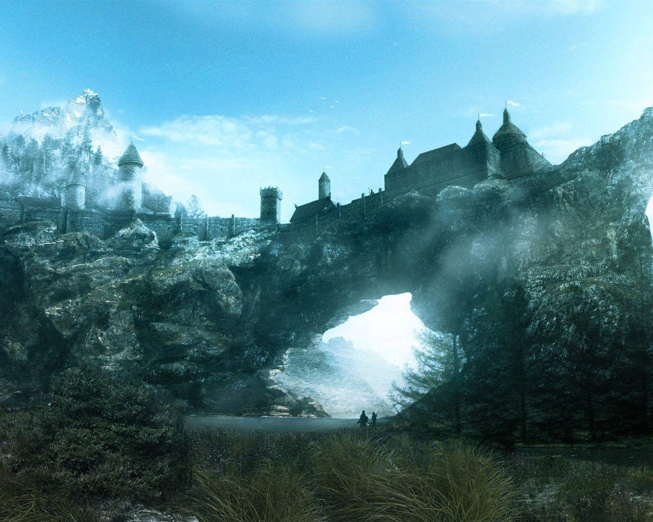 skyrim wallpapers 1280x1024 wallpaper cave