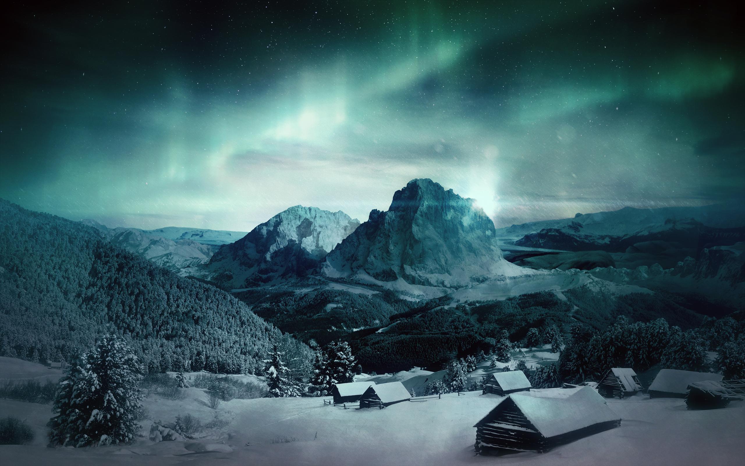 aurora borealis wallpapers hd wallpaper cave
