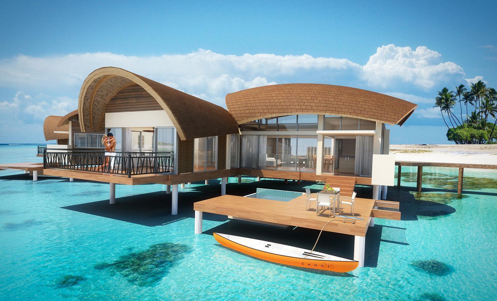 Amazingpict com beach bungalow hd wallpaper for iphone